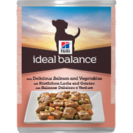 Hill's Ideal Balance Canine Adult with Delicious Salmon and Vegetables Våtfôr 12 x 363g