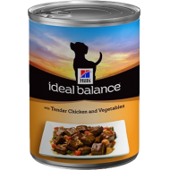 Hill's Ideal Balance Canine Adult Tender Chicken and Vegetables 12 x 363g