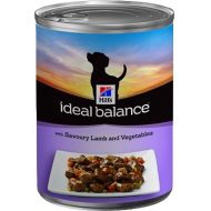 Hill's Ideal Balance Canine Adult with Savoury Lamb and Vegetables våtfôr 12 x 363g