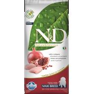 Farmina N&D Dog Grain-Free Chicken & Pomegranate Puppy Min/Med 12 kg
