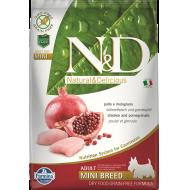 Farmina N&D Dog Grain-Free Chicken & Pomegranate Adult Mini 7 kg