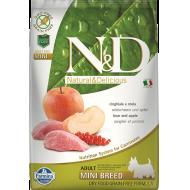 Farmina N&D Dog Grain-Free Boar & Apple Adult Mini 7 kg