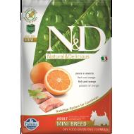 Farmina N&D Dog Grain-Free Fish & Orange Adult Mini 7 kg