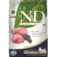 Farmina N&D Dog Grain-Free Lamb & Blueberry Adult Mini
