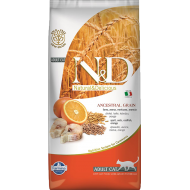Farmina N&D Cat Low Grain Codfish & Orange Adult 5 kg