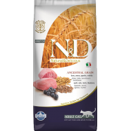 Farmina N&D Cat Low Grain Lamb & Blueberry Adult 5 kg