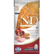 Farmina N&D Dog Low Grain Chicken & Pomegranate Pup Max 12 kg