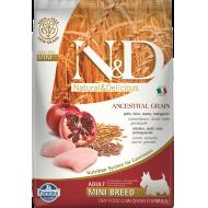 Farmina N&D Dog Low Grain Chicken & Pomegranate Adult Mini 7 kg