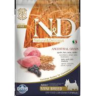 Farmina N&D Dog Low Grain Lamb & Blueberry Mini 7 kg