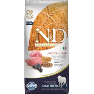 Farmina N&D Dog Low Grain Lamb & Blueberry Adult Max 12 kg