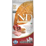 Farmina N&D Dog Low Grain Chicken & Pomegranate Senior Med/Max