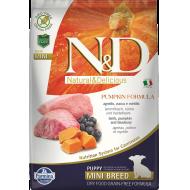 Farmina N&D Dog Pumpkin Lamb & Blueberry Puppy Mini 7 kg