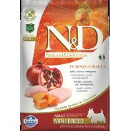 Farmina N&D Dog Pumpkin Chicken & Pomegranate Adult Mini 7 kg