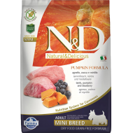Farmina N&D Dog Pumpkin Lamb & Blueberry Adult Mini 7 kg