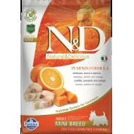 Farmina N&D Dog Pumpkin Codfish & Orange Adult Mini 7 kg
