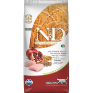 Farmina N&D Cat Low-Grain Chicken & Pomegranate Adult 5 kg