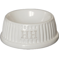 Happy House Keramikkskål Rund Hvit