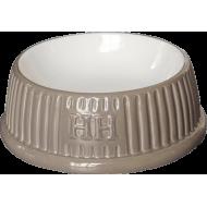 Happy House Keramikkskål Rund Brun 13 cm