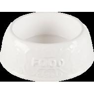 Trixie Keramikk skål hvit
