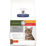Hill's Prescription Diet Feline Metabolic + Urinary Stress 4 kg