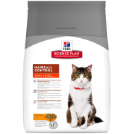 Hill's Science Plan Feline Adult Hairball Control with Chicken