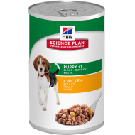 Hill's Science Plan Puppy Healthy Development Chicken Våtfôr 12x370 g