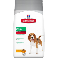 Hill's Science Plan Dog Adult Perfect Weight Medium Chicken