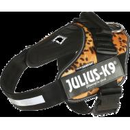 Julius K9 Leopard Fløyel IDC Sele