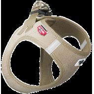 Curli Vest Harness Cord Hundesele Y-sele Beige