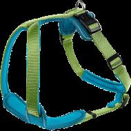 Hunter Hundesele Y-sele Neopren Blå/Grønn