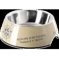 Hunter Hundeskål List Beige