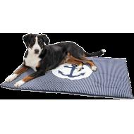 Hunter Hundeteppe Midlum Blå/Hvit 120 x 80 cm