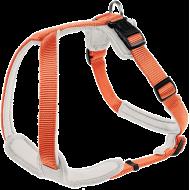Hunter Hundesele Y-sele Neopren Oransje/Hvit