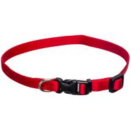 Dogman Valpehalsbånd justerbart rød 22 - 35 cm