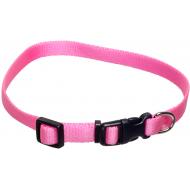 Dogman Valpehalsbånd justerbart rosa 22 - 35 cm