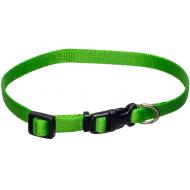 Dogman Valpehalsbånd justerbart grønn 22 - 35 cm