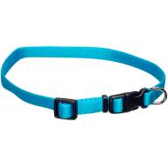 Dogman Valpehalsbånd justerbart blå 22 - 35 cm