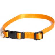 Dogman Valpehalsbånd justerbart orange 22 - 35 cm