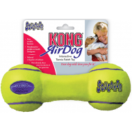 Kong AirDog Squeaker Dumbbell Hundeball