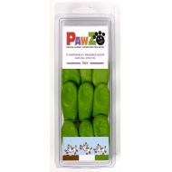 Pawz Hundesko Lysegrønn 2,5 cm