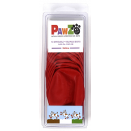 Pawz Hundesko Rød 6,4 cm