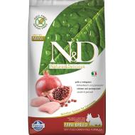 Farmina N&D Dog Grain-Free Chicken & Pomegranate Adult Mini 2,5 kg