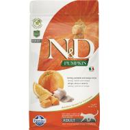 Farmina N&D Cat Grain-Free Pumkin Herring & Orange Adult 1,5kg