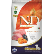 Farmina N&D Dog Pumpkin Lamb & Blueberry Valp 2,5kg