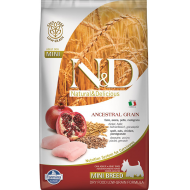 Farmina N&D Dog Low Grain Chicken & Pomegranate Adult Mini 2,5 kg
