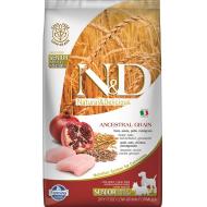 Farmina N&D Dog Low Grain Chicken & Pomegranate Senior Min/Med 2,5 kg