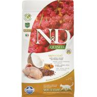 Farmina N&D Cat Quinoa Skin & Coat Quail Adult 1,5 kg