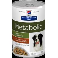 Hill's Prescription Diet Canine Metabolic våtfôr med Kylling og Grønnsaker 12 x 354g