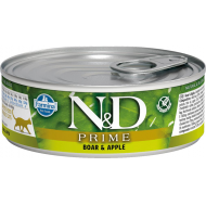 Farmina N&D Cat Prime Boar Apple 12x80g