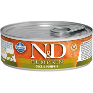 Farmina N&D Cat Pumpkin & Duck 12x80g
